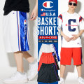 Champion チャンピオン バスケットショーツ ハーフパンツ バスパン メンズ 大きいサイズ ヒップホップ ストリート系 ファッション 839521 CPDT016