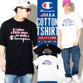 Champion チャンピオン 半袖Tシャツ メンズ 大きいサイズ HIPHOP ヒップホップ ストリート系 ファッション T1919G 549748 CPTT016