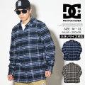 DC SHOES ディーシーシューズ 長袖 チェックシャツ メンズ ロゴ スケボー スケーター ファッション EDYWT03207 服 通販 DCOT009