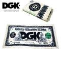 DGK ディージーケー タオル メンズ ストリート系 スケーター ヒップホップ ファッション DGK Currency Towel DAC-177 DGAT039