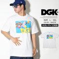 DGK ディージーケー 半袖Tシャツ メンズ 大きいサイズ ストリート系 スケーター ヒップホップ ファッション Floaties T-Shirt DT-4173 DGTT170