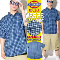 DICKIES ディッキーズ 半袖シャツ メンズ 大きいサイズ チェック柄 WS526 DKOT012