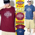 DICKIES ディッキーズ Tシャツ メンズ 半袖 大きいサイズ ロゴ WS45F DKTT004