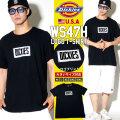 DICKIES ディッキーズ Tシャツ メンズ 半袖 大きいサイズ ロゴ ワッペン WS47H DKTT006