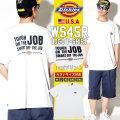 DICKIES ディッキーズ Tシャツ メンズ 半袖 大きいサイズ ロゴ WS45H DKTT010