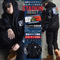 DOP ディーオーピー スタジャン メンズ 大きいサイズ マリア様 女神 刺繍 メルトン b系 hiphop ヒップホップ ファッション 通販 DPJT065
