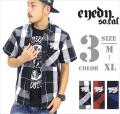 b系ストリート系メンズファッション通販 EYEDY 半袖シャツ EYE-SH1310
