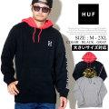 HUF ハフ プルオーバーパーカー メンズ H ロゴ スケーター ストリート系 ファッション 服 通販 FL00061 FHPT011