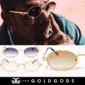 THE GOLD GODS ザ・ゴールドゴッズ サングラス 18金コーティング カラーレンズ ブリンブリン ストリート系 ヒップホップ ファッション ARES GGAT002