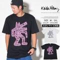 Keith Haring キースへリング Tシャツ メンズ 半袖 バックプリント KH-NN1806 HHTT175