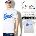 KARL KANI カールカナイ 半袖Tシャツ メンズ 大きいサイズ ロゴ HIPHOP ヒップホップ b系 ファッション KK217 KATT006