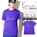 KARL KANI カールカナイ 半袖Tシャツ メンズ 大きいサイズ ロゴ HIPHOP ヒップホップ b系 ファッション KKB143 KATT008