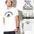 Kappa カッパ Tシャツ メンズ 半袖 大きいサイズ ロゴ ブランド ストリート系 ヒップホップ ファッション 通販 303WG30 KPTT003