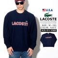 LACOSTE ラコステ セーター メンズ 大きいサイズ ストリート系 カジュアル ファッション AH3390 服 通販