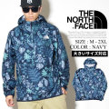 THE NORTH FACE ザノースフェイス アノラックジャケット メンズ 花柄 NF0A3FZL NFJT001
