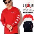 JORDAN (ジョーダン) ロンT 長袖Tシャツ M J AIR JORDAN SWERVE WM TEE (CD5509)