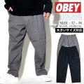 OBEY オベイ カジュアルパンツ メンズ ストリート系 ファッション 服 通販 142020106 OBDT002