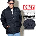 OBEY オベイ バウンサー パファージャケット メンズ ストリート系 ファッション 服 通販 121800336 OBJT002