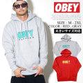 OBEY オベイ プルオーバーパーカー メンズ ロゴ ネーム ストリート系 ファッション 服 通販 111731786 OBPT004
