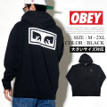 OBEY オベイ プルオーバーパーカー メンズ バックプリント ロゴ ストリート系 ファッション 服 通販 112651826 OBPT006