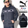 PUMA プーマ ジップパーカー メンズ 大きいサイズ ロゴ スポーツ ストリート系 ファッション 580433 服 通販