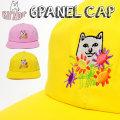 RIPNDIP リップンディップ ストラップバックキャップ 帽子 猫 ネコ 花 通販 RDCT011