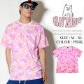 RIPNDIP リップンディップ 半袖 Tシャツ メンズ 胸ポケット 猫 ネコ 迷彩 カモフラ ストリート系 スケーター ファッション 通販 RDTT014
