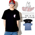 RIPNDIP リップンディップ 半袖 Tシャツ メンズ 猫 ネコ Rロゴ ストリート系 スケーター ファッション 通販 RDTT015