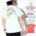 RIPNDIP リップンディップ Tシャツ メンズ 半袖 猫 ネコ 花 ストリート系 ファッション Blooming Nerm Tee 服 通販