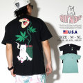 RIPNDIP リップンディップ Tシャツ メンズ 半袖 猫 ネコ 大麻 マリファナ ストリート系 ファッション Herb Eater Tee 服 通販
