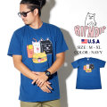 RIPNDIP リップンディップ Tシャツ 半袖 メンズ レディース ハンバーガー 猫 ネコ ストリート系 ファッション 服 通販