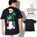 ripndip リップンディップ Tシャツ メンズ ネコ 猫 ねこ Herb Eater Pocket Tee RND3291 服 通販
