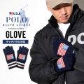 POLO RALPH LAUREN ポロ ラルフローレン 手袋 グローブ メンズ ロゴ PC0423 防寒 通販