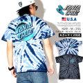 Santa Cruz サンタクルーズ タイダイ柄 Tシャツ 半袖 メンズ 大きいサイズ サークル ロゴ 波 ストリート系 スケーター スケボー スケートファッション 44152076 服 通販
