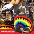 SPRAY GROUND スプレイグラウンド バックパック リュックサック メンズ レディース 迷彩柄 カモフラ シャーク ヒップホップ ストリート ファッション 鞄 通販 SOBT002