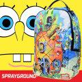 SPRAY GROUND スプレイグラウンド バックパック リュックサック メンズ レディース スポンジボブ ヒップホップ ストリート ファッション 鞄 通販 SOBT010