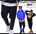 SHOOW TIME (ショウタイム) レイヤードハーフパンツ STDT051