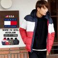 TOMMY HILFIGER トミー 中綿ジャケット メンズ レディース 大きいサイズ ストリート系 カジュアル ファッション 156AN122 服 通販