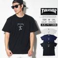 THRASHER スラッシャー マークゴンザレス コラボ 半袖Tシャツ メンズ 大きいサイズ ストリート系 スケーター ファッション TH8128 TSTT109
