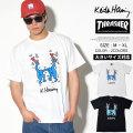 THRASHER スラッシャー Keith Haring キースへリング コラボ 半袖Tシャツ メンズ スケーター ファッション 通販 THKH-ST18 TSTT110