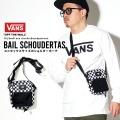 VANS (バンズ) ショルダーバッグ M BAIL SHOULDER BAG (VN0A3I5S)