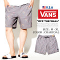 VANS バンズ ハーフパンツ メンズ 大きいサイズ 総柄 スケーター ストリート系 ファッション VNDT013