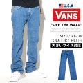 VANS バンズ デニムパンツ ジーンズ メンズ スリム スケーター ストリート系 ファッション 服 通販 VN0A2Y5O VNDT007