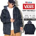 VANS バンズ コーチジャケット メンズ 迷彩 カモフラ スケーター ストリート系 ファッション 服 通販 VN0A3HOUK VNJT007