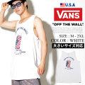 VANS バンズ タンクトップ メンズ 国旗柄 星条旗 缶 ロゴ ストリート スケーター ファッション VNTT029