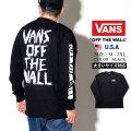 VANS (バンズ) 長袖Tシャツ M SCRATCHED VANS LS (VN0A49KG)