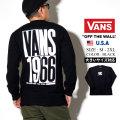 VANS (バンズ) 長袖Tシャツ M CHECK STACK LS (VN0A49MJ)