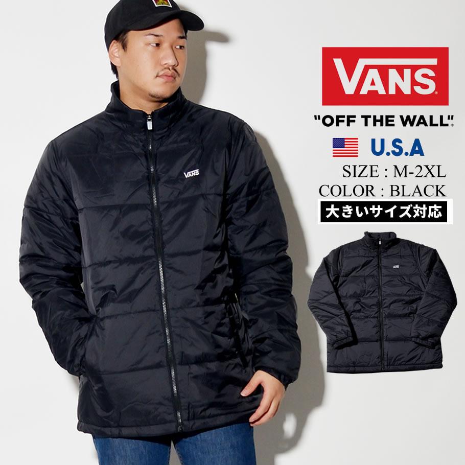 VANS バンズ ジャケット メンズ ロゴ スケーター ストリート系 ファッション 通販