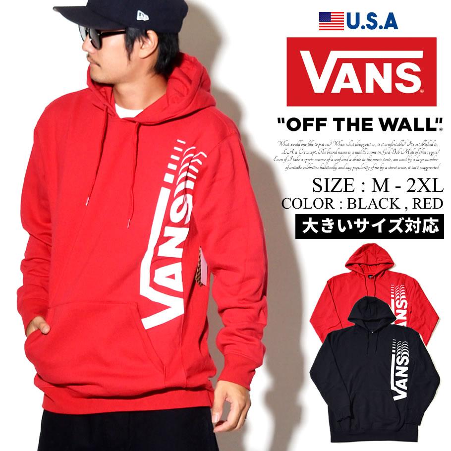 VANS バンズ プルオーバー パーカー メンズ ロゴ スケーター ストリート系 ファッション 服 通販 VN0A3HWV VNPT007