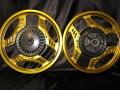 CBX400F ゴールドアルマイト